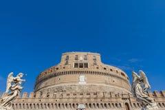 Castel Sant ` Angelo, Ρώμη, Ιταλία Στοκ εικόνες με δικαίωμα ελεύθερης χρήσης