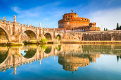 Castel Sant Angelo, Ρώμη, Ιταλία Στοκ εικόνες με δικαίωμα ελεύθερης χρήσης