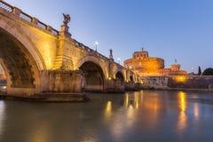Castel Sant Angelo, Ρώμη Ιταλία Στοκ εικόνες με δικαίωμα ελεύθερης χρήσης