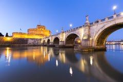 Castel Sant Angelo, Ρώμη Ιταλία Στοκ Εικόνες