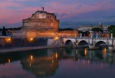 Castel Sant ` Angelo, Ρώμη Στοκ εικόνα με δικαίωμα ελεύθερης χρήσης