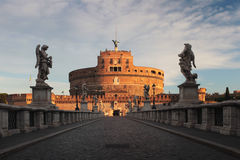 Castel sant'angelo-Ρώμη Στοκ Εικόνα
