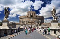 Castel Sant'angelo, Ρώμη Στοκ Εικόνες