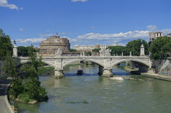 Castel Sant Angelo Ρώμη Στοκ Φωτογραφία