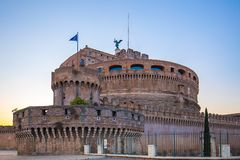Castel Sant ` Angelo στη Ρώμη, Ιταλία Στοκ Φωτογραφίες