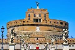 Castel Sant Angelo στη Ρώμη, Ιταλία Στοκ φωτογραφία με δικαίωμα ελεύθερης χρήσης