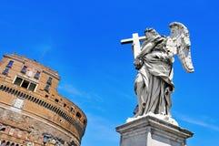 Castel Sant Angelo στη Ρώμη, Ιταλία Στοκ Εικόνες