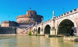 Castel Sant ` Angelo στη Ρώμη, Ιταλία Στοκ εικόνες με δικαίωμα ελεύθερης χρήσης
