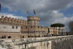 Castel Sant ` Angelo στη Ρώμη, Ιταλία Στοκ εικόνα με δικαίωμα ελεύθερης χρήσης