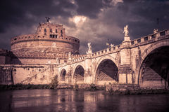 Castel Sant ` Angelo στη Ρώμη Στοκ φωτογραφία με δικαίωμα ελεύθερης χρήσης