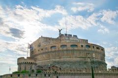 Castel Sant ` Angelo στη Ρώμη Στοκ εικόνα με δικαίωμα ελεύθερης χρήσης
