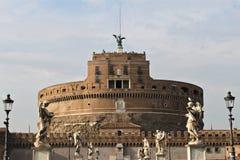 Castel Sant'Angelo в Рим Стоковое Изображение