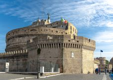 Castel Sant Angelo в Рим Стоковая Фотография