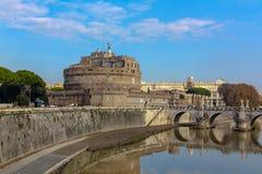 Castel Sant Angelo в Рим Стоковые Фотографии RF