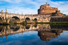 Castel Sant Angelo, Рим, Италия Стоковое Фото