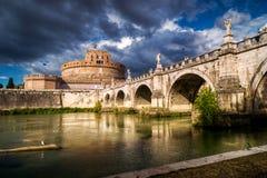 Castel Sant'Angelo, Рим Стоковая Фотография