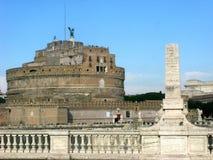 Castel Sant Angelo immagini stock libere da diritti