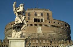 Castel Sant'Angelo 1 Stock Foto's
