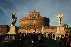 Castel sant'angelo Royalty Free Stock Photography