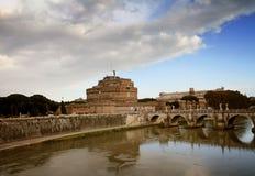 Castel Sant Angelo Stock Afbeeldingen