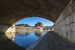 Castel Sant ' Angelo Fotografering för Bildbyråer