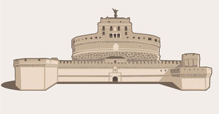 Castel Sant'Angelo royalty illustrazione gratis