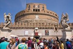 Castel Sant'Angelo Fotografie Stock Libere da Diritti