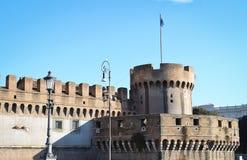 Castel Sant'Angelo Stock Afbeelding