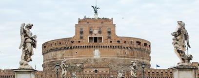 Castel Sant & x27; angelo royaltyfria foton