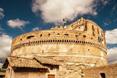 Castel Sant ` Angelo (Castle του ιερού αγγέλου) στη Ρώμη Στοκ Φωτογραφίες