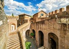 Castel Sant ` Angelo (Castle του ιερού αγγέλου) στη Ρώμη Στοκ εικόνα με δικαίωμα ελεύθερης χρήσης