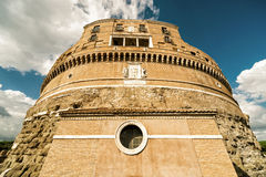 Castel Sant ` Angelo (Castle του ιερού αγγέλου) στη Ρώμη Στοκ φωτογραφίες με δικαίωμα ελεύθερης χρήσης