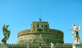 Castel Sant'Angelo (Castle του ιερού αγγέλου) στη Ρώμη Στοκ φωτογραφία με δικαίωμα ελεύθερης χρήσης