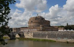 Castel SantAngelo. Castle of the Holy Angel Stock Images