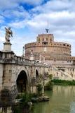 Castel Sant'Angelo em Roma Fotografia de Stock