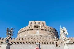 Castel Sant Angelo en Parco Adriano, Roma, Italia Fotos de archivo