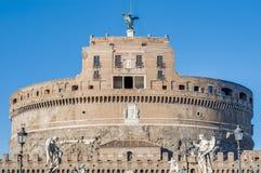 Castel Sant Angelo en Parco Adriano, Roma, Italia Imagen de archivo