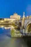 Castel Sant Angelo en Parco Adriano, Roma, Italia Fotografía de archivo