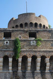 Castel Sant'Angelo. Fortress view in Rome, Italy Stock Image