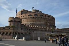 Castel Sant ` Angelo, Castel Sant ` Angelo, Castel Sant ` Angelo, gränsmärke, himmel, byggnad, château Arkivbild
