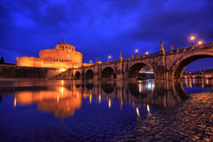 Castel Sant'Angelo, HDR Royalty Free Stock Photo