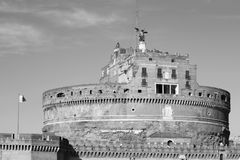 Castel sant`angelo historical monument Royalty Free Stock Photo
