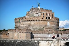 castel sant`angelo historical monument Royalty Free Stock Images
