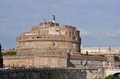 Castel Sant ` Angelo i Rome Arkivfoto