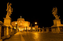 Castel Sant'Angelo. The Mausoleum of Hadrian (Castel Sant'Angelo Royalty Free Stock Images
