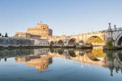 Castel Sant Angelo in Parco Adriano, Rom, Italien Lizenzfreies Stockbild