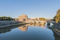 Castel Sant Angelo in Parco Adriano, Rom, Italien Stockbild