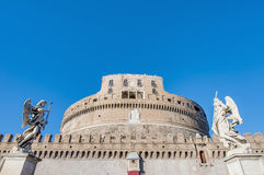 Castel Sant Angelo in Parco Adriano, Rome, Italy Stock Photos