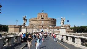 Castel Sant`Angelo, Ponte Milvio, landmark, sky, tourist attraction, tourism stock image