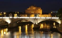 Castel Sant'angelo, Rom Stockbilder